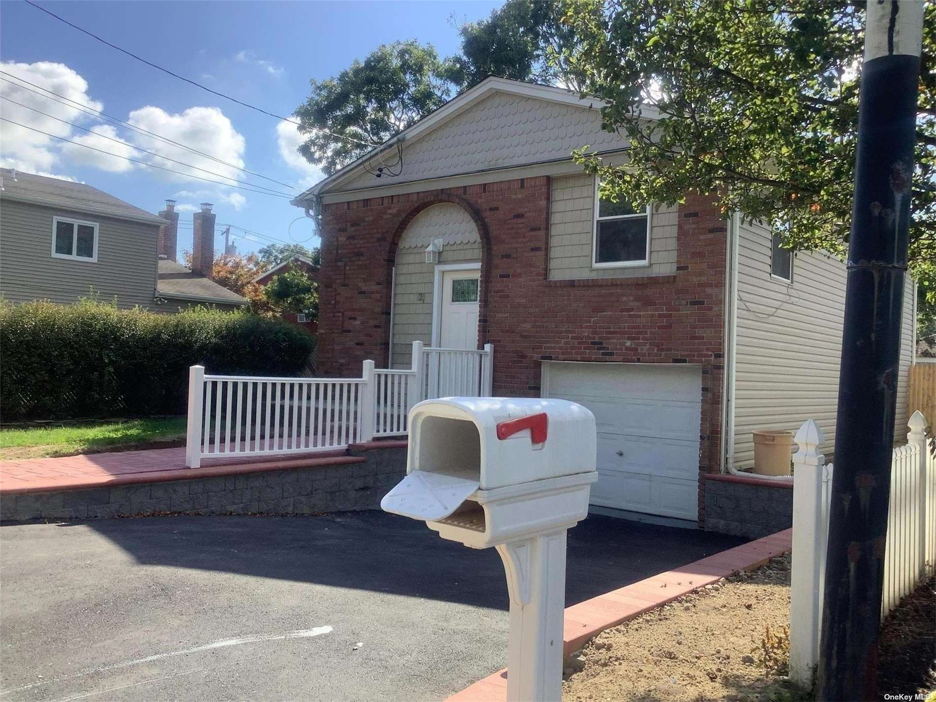 Diamond High ranch with everything n ew and updated.  EIK with granite countertops ss appliances and lots  of closets throughout.  Downstairs there is another full bathroom and 2 additional bedrooms.  The den has double doors that lead to the fenced in yard.