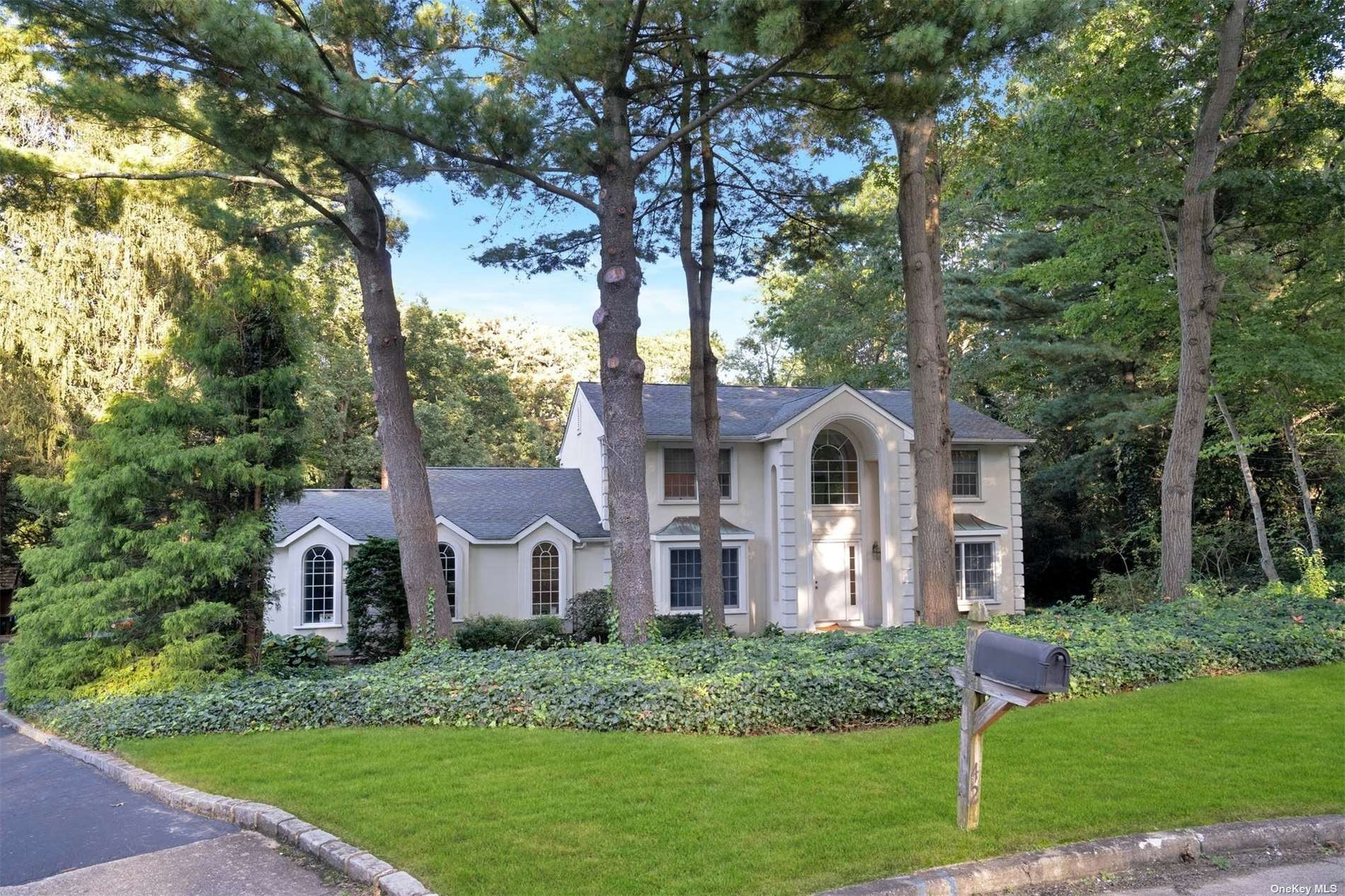 Grand Center Hall Colonial on quiet Cul-De-Sac in the heart of Village on the Hill. Impressive curb appeal! Large center hall with 2 closets and half bath. Open great room to your right flows for easy entertaining.. Kitchen has large breakfast area and serving station to the formal dining room. Nice size BR on first floor with separate full bath. Primary BR was made larger by adding 4th bedroom as a sitting room. En-Suite bath and Huge Walk-In-Closet complete the dream! All Bedrooms good sizes! The basement is beautiful, brand new and ready to go. Huge storage room  Nice builders acre. In-ground pool As-Is. 200 Amp, Boiler 20 yrs, New Hot Water Tank, Anderson Windows, 2 new CAC units.