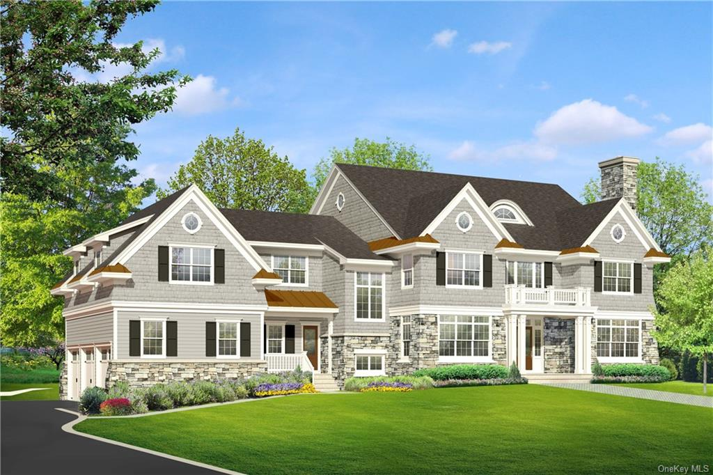 Exclusive Yale Farm New Construction in Byram Hills SD. To be built by renowned Westchester builder known for exceptional architectural details and fine craftsmanship, on beautiful, level 2 acre private lot. Property backs up to CT border. Spacious 2 story entry foyer, bright living room w/fireplace, large formal dining room, powder room,state-of-the-art chef's kitchen w/granite topped center island, sunny breakfast area, butler's pantry, grand family room w/fireplace, doors to blue stone patio & private yard,office/guestroom w/full bath, mudroom w/door to 3 car garage and door to covered porch. Second floor master bedroom suite w/tray ceiling and luxurious master bath, 2WIC,office w/pocket doors, bedroom with en-suite bath, 2 additional bedrooms w/hall bath and laundry room. Full finished lower level w/bedroom and full bath,family room, recreation room & exercise room. All floors have 9 ft ceilings. Builder will Customize. Private setting in coveted Yale Farm neighborhood. A Must See!