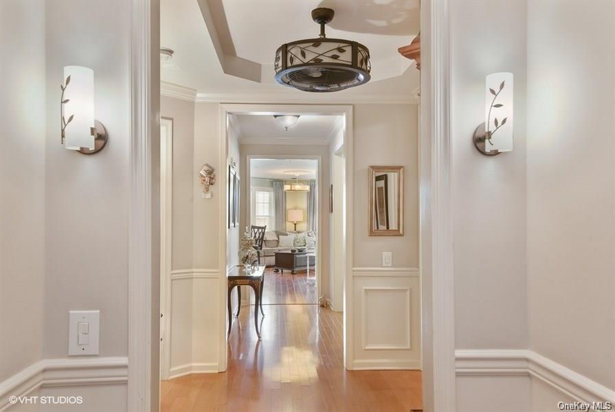 IT'S THE ORIGINAL MODEL! Builders choose their prime location and put all their bells and whistles in their models, hence, it is a rare opportunity to own one. This pristine, move-in-ready end unit Condominium is located in the sought-after community: The Retreat in Carmel.  After you are dazzled by the custom moldings that set it apart, you will be awestruck by spectacular views of the mountains.  Easy access, near the elevator. 2BR, 2 full baths. Master Suite includes en suite bathroom with shower & soaking tub & WIC.  EIK w/granite countertops, NEW white cabinets, & SS appliances. 6 burner stove & convection double-oven. FDR. Bonus Room/Office.  Family Room w/access to balcony.  Sit on this balcony & enjoy the amazing view. Private Laundry Room. Walk-in tub with jacuzzi in 2nd bathroom.  HW floors. W2W carpeting in 2nd BR. New HW tank (2017).  TWO ASSIGNED INDOOR PARKING SPOTS, visitor parking outside for guests.  Storage area located near assigned parking spots in the garage.  Clubhouse amenities include: outdoor pool, full gym, changing rooms & showers, bocce courts, ballroom, great room, billiard room, arts & crafts room, & full-service kitchen.  FALL IN LOVE WITH YOUR NEW LIFESTYLE - YOU DESERVE IT!!!                     Basic STAR $1225, Enhanced STAR $2691