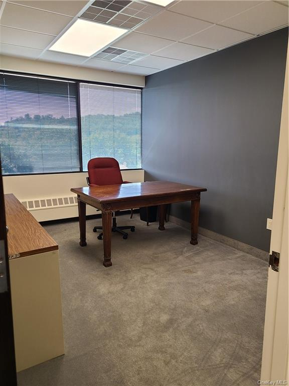 Available ASAP!  Great top-floor professional office space, ideal for a lawyer, accountant or broker.  Large windows, good lighting.  Plenty of free parking, centrally located close to I-287, downtown White Plains and Route 119.  Public transit accessibility for clients.  Rent includes shared suite with a spacious conference room/law library.  Unit ready for all of your professional needs.