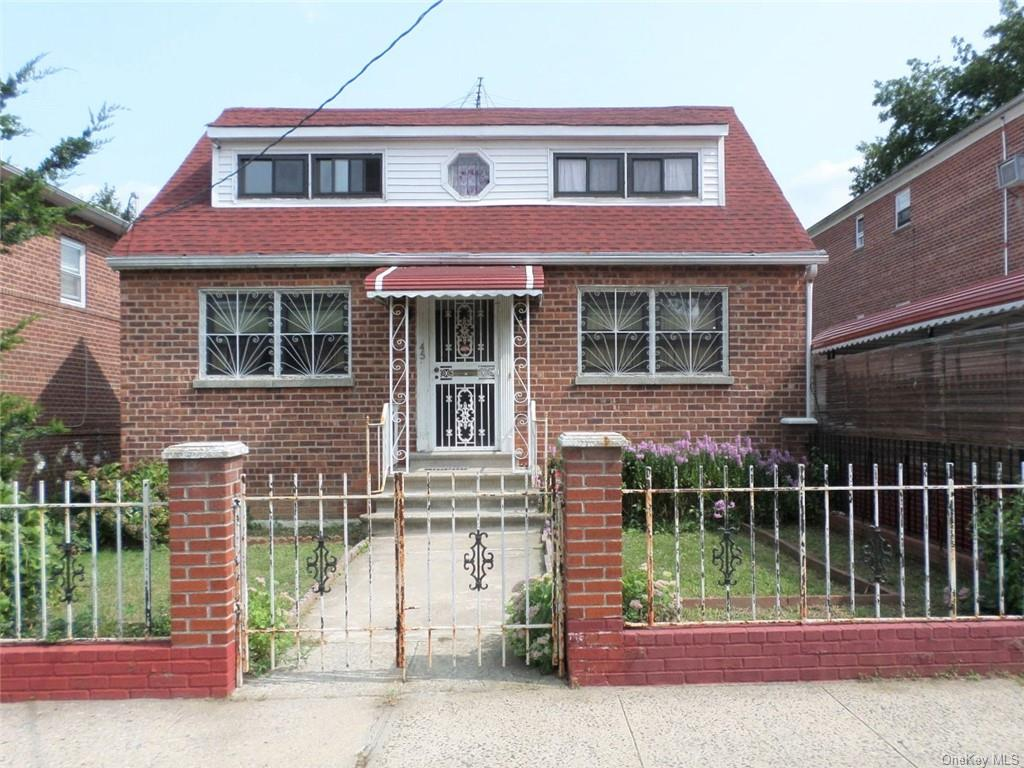 This solid brick, fully-detached, single family house, on large, level lot, has all the amenities you have been looking for in a home. Ideally situated near the Bronx border, with easy walk to NYC buses and trains. Close to all public amenities. Semi-finished, walk-out basement with utilities and laundry room. Off street parking for 4+ cars - Carport with long driveway leading to level back yard. + + +