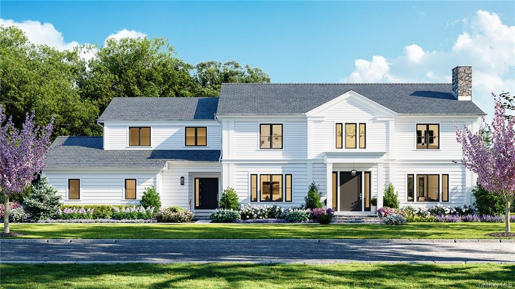 New construction to be built in Quaker Ridge on .53 acre w/room for a pool. Modern and spacious interior to feature open-concept floor plan, dramatic double height entry, 10    ceilings on the 1st flr and 9' ceilings on the 2nd flr and basement. Expansive kitchen w/top of the line professional appliances and custom cabinets opens to large family room (over 50   ), w/views of the park-like private backyard (and possible pool). 1st flr also includes large dining and living rooms, mudroom, powder room, and 1st flr office/bedroom (w/cathedral ceiling) w/en-suite bath. 2nd flr to feature luxurious master bedroom w/soaring cathedral ceiling, large walk-in closets, and en-suite bath w/ radiant heat, soaking tub, rainfall shower and water closet. 3 oversized bedrooms each w/ en-suite bath, an office/bedroom and large laundry room complete the 2nd flr. Basement to include bedroom, bath, lounge, game room, media room and gym. Unique opportunity to work w/a local builder to customize your dream home.