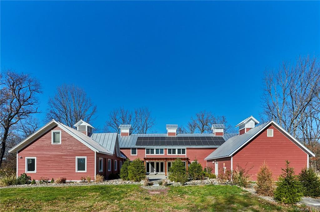 Rare opportunity! This historic compound is part of the original Schuyler estate and offers the perfect balance of original details with modern amenities. The main house was once the barns to the estate and has been beautifully transformed to a spacious barn house. The barn house has a large open concept floor plan with exposed beams, large windows throughout, multiple living areas, attached pool house, 3 bedrooms, and attached garage. The guest house is the original, 2300 square foot main house and has all of its original details along with 5 bedrooms and 2.5 bathrooms. The two homes interact well together but also have the perfect buffer to create privacy between them. The property is approached by crossing a historic bridge and has a pond, a large original barn, incredible tree house, in ground pool, open lawn as well as woods. Don't miss this rare opportunity!