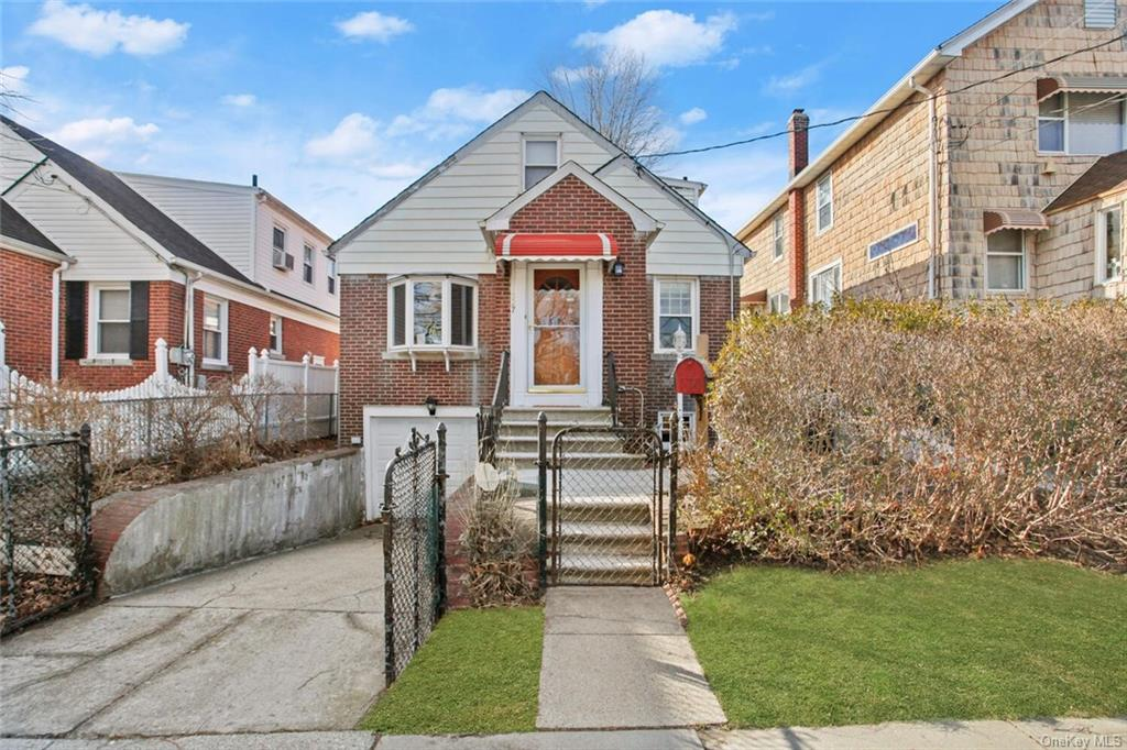 WHAT A VALUE! WELCOME TO 927 Hollywood Ave! Opportunity awaits to own this beautiful brick home with lots of potential in the desirable Throggs Neck vicinity of The Bronx. You   ll appreciate the legal two bedrooms + two bonus rooms. There is enough room for everyone in this 1,500 Square foot home; when you include the finished basement and second level, it gives you a total of 2,660 Sq ft of comfort. Hardwood floors throughout. Enjoy the fenced-in backyard and the calming quiet nearby. The first level offers a legal 2 queen-size bedrooms, full bathroom, kitchen, dining area, cozy living room, and hallway. The upper level includes  2 bonus rooms, with closets and a charming reading/reflection area. The basement has laundry space, a family room, and a half bath. Easy access to city buses, express buses to Manhattan, or the #6 train, close to I95 North and South. Cross Bronx Expressway, Bruckner Blvd.& many shops. Don   t miss the opportunity; You   ll love this home and the location too.