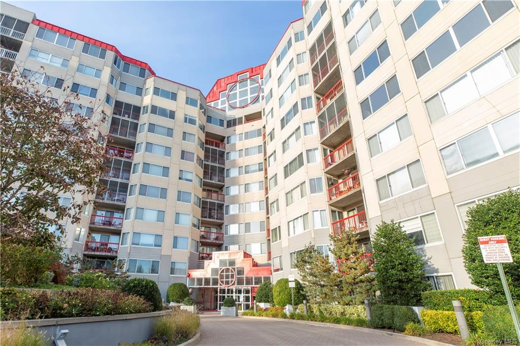 Sought after spacious 1 bedroom, 1 bath Condo unit with Balcony in desirable 24 hour Concierge Building.  ... Features-New flooring throughout, renovated kitchen with new stainless appliances, marble countertops,  bathroom new vanity, medicine cabinet, Bedroom has walk-in-closet.  Washer/Dryer in unit.  Non-smoking Bldg.  Amenities include: Central AC, heated indoor pool, fitness center with sauna/steam room w/showers, locker rooms, rooftop sun decks and huge entertainment room /w/fireplace, TV, kitchen, with gorgeous views. Tenant pays gas, electric, Cable TV & Internet additional $80.00/mo.  (optimum only).  Hot water is included.  One indoor garage space included.  Conveniently located close to all  White Plains has  to offer -Shopping, Dining, Movies, The Westchester Mall, Parks and E-Z commute to NYC.