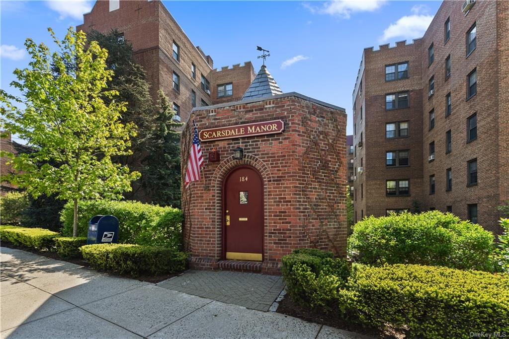 Sponsor Unit- No Board approval in lovely pre-war building with manicured courtyard grounds.  Nothing to do but move into this spacious one bedroom with renovated kitchen and bath, Parquet floors throughout.   Rent includes gas, electric, heat and hot water.     Close to Scarsdale Village- Metro north RR, village shops, Eateries, major highways, park, walking trails.  Eligible for beautiful Lake Isle Country Club membership for swimming, tennis, and golf.  Free street parking on Garth Road and Grayrock Roads (behind the building)  with Eastchester town resident parking permit.  Building has cablevision,, direct TV and Fios.