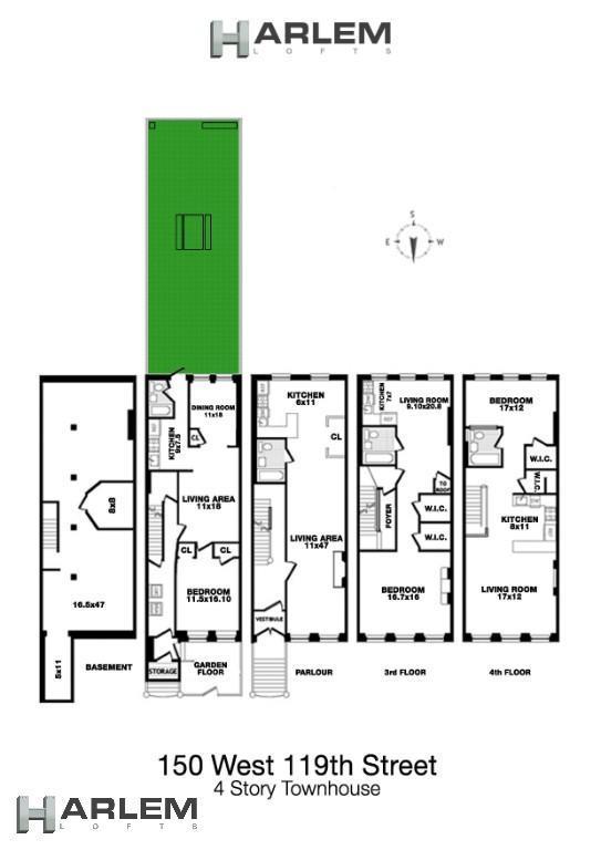 Single Family 119th Street  Manhattan, NY 10026, MLS-H6097424-17