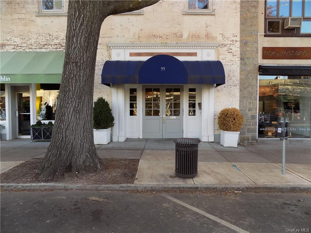 Prime location medical/professional space at the Gramatan building located in the heart of the Village of Bronxville. 425 square foot unit for sale/lease. Lease price is $65 Per sq ft/year. Adjacent unit is also for sale at $570,000 and/or lease at $55 per sq ft/year. Possibilities to combine both units. All utilities included in the common charges of $579.62 per mth. Located in the heart of the Village of Bronxville. Building features an updated HVAC system. Ample merchant and patron parking. Common area bathrooms for patrons. Wheelchair accessible.