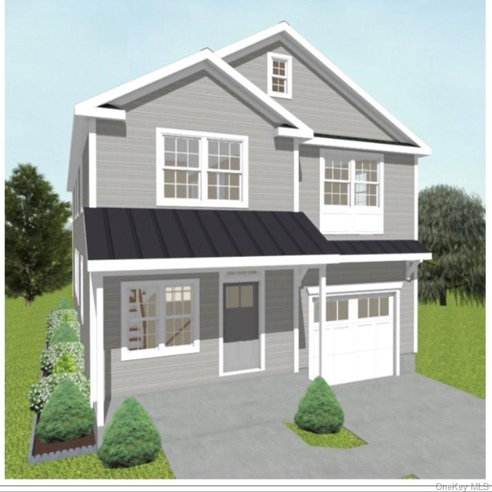 Fabulous New Construction in desired Edgewood Neighborhood.   A short walk to   Village Center, shops and Scarsdale Train Station for a 30 minute express ride to GC!   This home is perfectly located in a tranquil cul-de-sac with access to Hyatt Field park and playground.   Walk to Edgewood Elementary and Scarsdale High School.   Free School bus to Scarsdale Middle School.   Featuring a  dramatic  2-story grand foyer, an expensive formal living room, dining room, and gourmet chef's kitchen  with huge central island and high end appliances. South facing fully open family room leads to a patio and flat back yard for family entertainment. First floor completes   with a guest bedroom, full bath and mudroom. The Second floor includes a luxurious south facing master suite, an open sitting area,   three more bedrooms , a jack and jill bath , an en suite bath and Laundry.The Lower level   has a recreation room, bed room, full bath, and more. Do not miss the Gem!