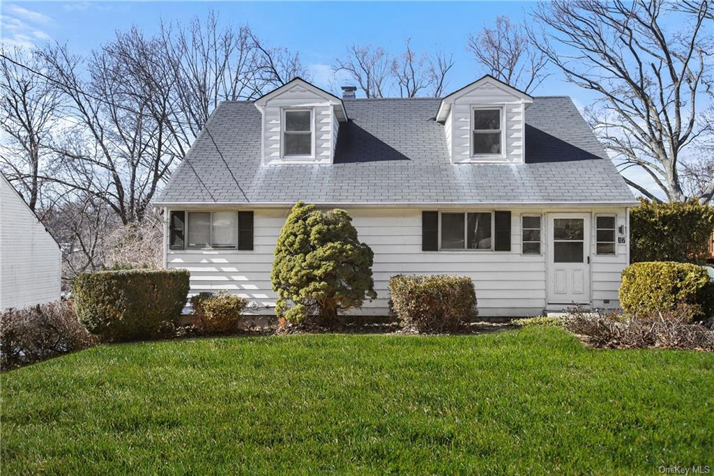 *****Highest and Best Offer by Tuesday 3/16 at 5PM.****Great starter home on oversized lot -very well maintained in the Sprain Lake Knolls neighborhood in Yonkers.  First floor has two bedrooms - 2nd  can be used for dining room.  Second floor has 2 bedrooms.  Enjoy Low taxes which does not include the Basic star discount of $1,074.  Features hardwood floors throughout the first floor, nicely renovated EIK and bath, SGD to private deck.  Partially finished basement with walk-out area can be used as family room/playroom. laundry and plenty of storage space. Includes Weber Summit Stainless Steel BBQ-gas grill, 2nd Refrigerator in basement.  Parking for 4 cars in driveway.      Easy access to major highways (Sprain Parkway and Cross County; Interstate 87) and prime shopping locations at Central Park Avenue, Ridge Hill, Stew Leonard's and Cross County Shopping Center.