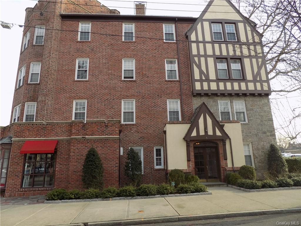 Nicely renovated, top of the line d cor, in charming pied de terre condo in the heart of Bronxville Village in pre-war tudor building with access via front building entrance or private side entrance.  Immediate parking available 24-7  $140.00/mo. Premier location, near shops, dining, movies, school, park and metro north railroad. Low common charges ..Good investment property-can rent out immediately..