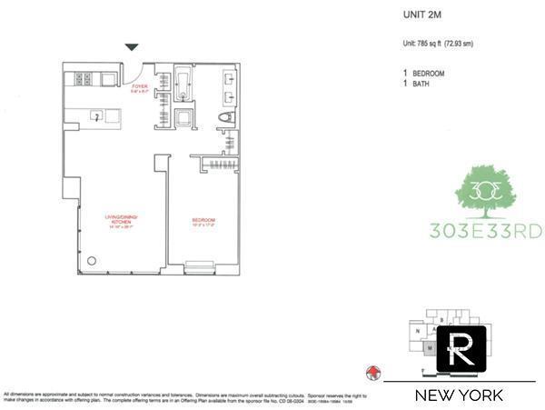 303 E 33rd Street Kips Bay New York NY 10016