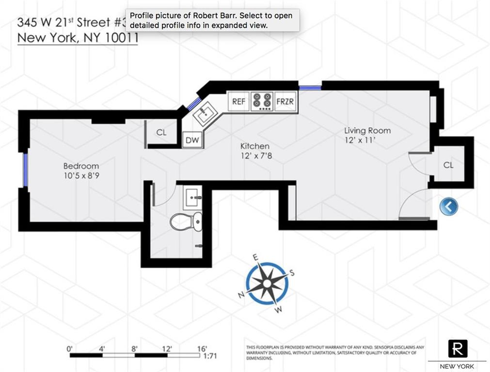 345 W 21st Street Chelsea New York NY 10011