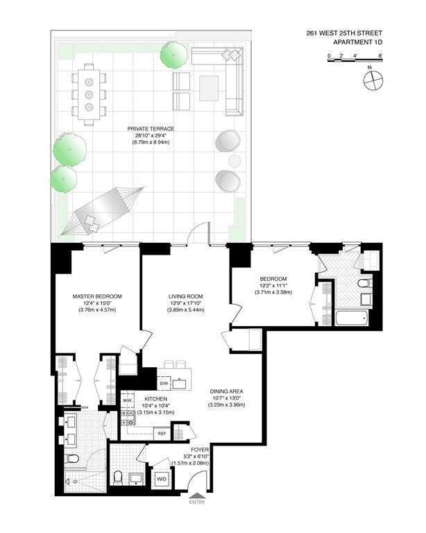 Residential Lease 25th Street  Manhattan, NY 10001, MLS-H6113112-6