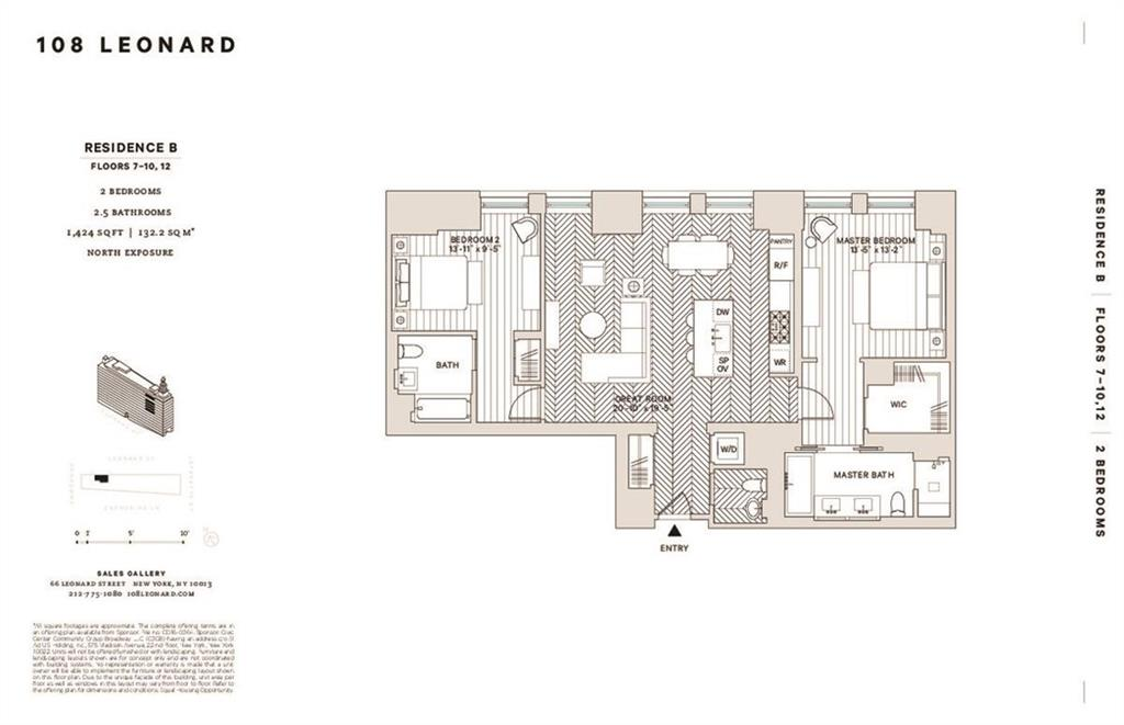 Residential Lease Leonard Street  Manhattan, NY 10013, MLS-H6116090-9