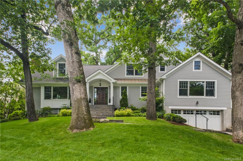 A spectacular contemporary Colonial in the desirable neighborhood of Murdock Woods sits on .5 acre of beautiful private property. This sun filled home with large windows throughout was completely rebuilt and renovated in 2017. It boasts all the amenities and layout you want for elegant entertaining and comfortable living. The living room flows easily into the family room and gourmet kitchen. Sliders open to a deck overseeing the plush fenced in flat backyard. The formal dining room is enhanced with distinctive molding. The first floor master bedroom enjoys two walk in closets and a luxurious master bathroom. A second bedroom and bath complete the main level. Three bedrooms, two full baths and a multi purpose room and laundry are on the 2nd floor. A media room, billiards, bedroom/gym and bath occupy the walk out lower level. The mud room opens to an oversized two car garage.  With room for a pool, this home has it all. Choice of Mamaroneck or Scarsdale Schools. SEE FEATURE SHEET.