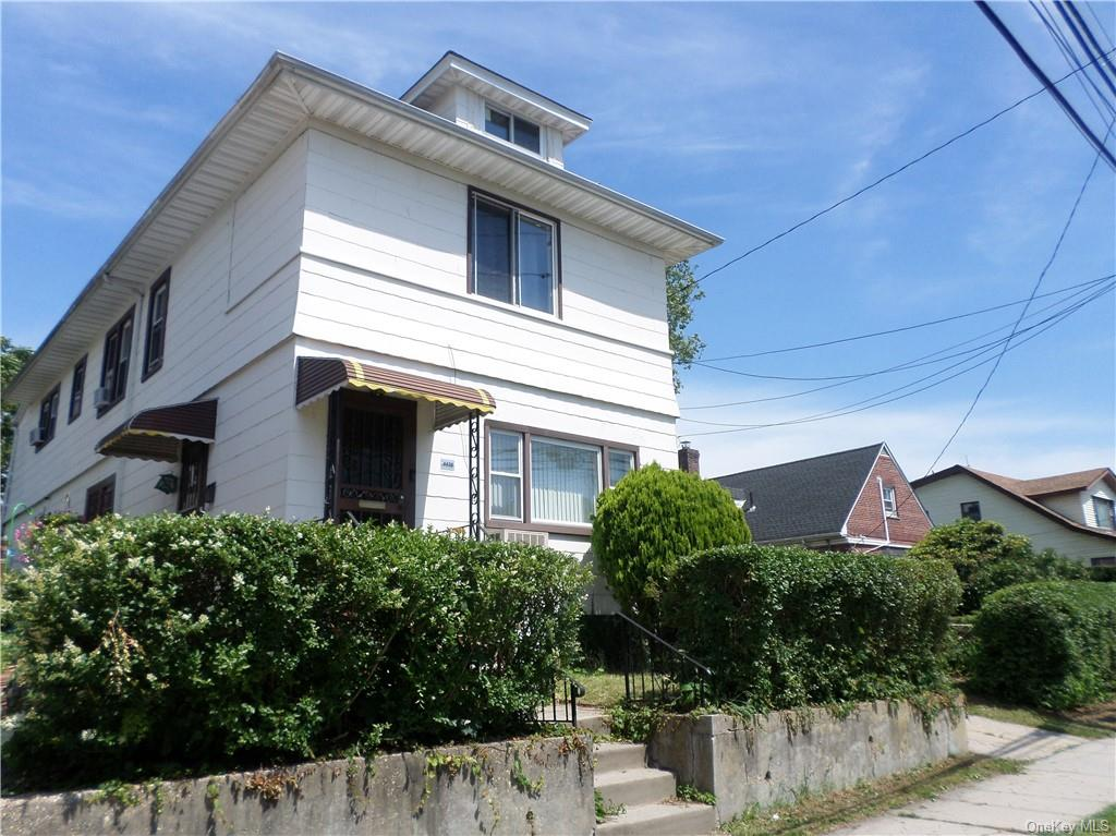 Well-maintained, fully detached, two family house on oversized lot, in northeast section of the Bronx. Detached garage with additional parking for multiple vehicles. Close to Mount Saint Michael Academy. Easy walk to all area amenities.