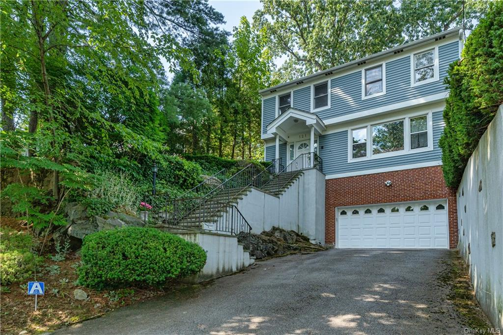 Beautiful and spacious 1989 colonial in best location! Walk to Scarsdale train and village center shops, school bus to Fox Meadow Elementary and Scarsdale Middle School. Interior has nice layout with good flow. First floor features welcoming entry foyer, powder room on the side,  large living room with tall windows, dining room connects to open kitchen and family room (currently used as dining room) with sliding door to large deck, enjoy tea with relaxing view of greenery in the backyard, washer and dryer also on the 1st floor. Second floor features huge master bedroom with walk-in closet, master bath with shower and Jacuzzi tub, 3 additional generous bedrooms, updated hall bath with shower.  Lower level is finished with large space for entertainment, utility room and storage. Great property for comfort and convenience!