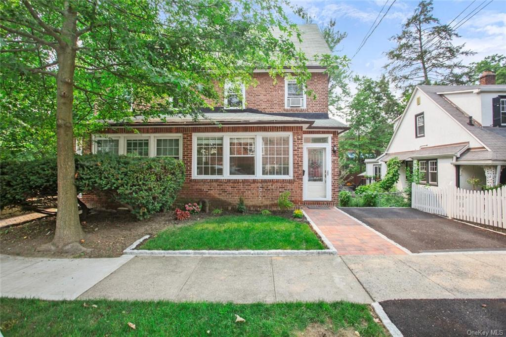 Great brick house in a fabulous neighborhood in Riverdale. Quiet & safe street. Attached on 1 side. Totally renovated & in move-in condition. Nice small front yard & flat, usable, private, fenced-in, nicely landscaped backyard. Walk into a small foyer next to a walk-in closet & beautiful powder room. Large LR w/FP flows into DR & beautiful kitchen with granite countertops & SS appliances. Peninsula countertop with stools for easy eating. Upstairs 2 BRs & a full hall bath & another BR on the 3rd floor. Spacious walk-out basement is unfinished, clean & totally usable with a full-height ceiling. Laundry hookups in basement. Furniture can be included & is negotiable. Park w/pool, baseball & football fields, tennis & horseback riding, paddleball court, & skateboarding is walking distance. Beautiful lake & golf course. Numerous running tracks. Also close to Yonkers Racetrack/Casino & Cross-County Mall. Close to highways. 10 minutes to Manhattan.