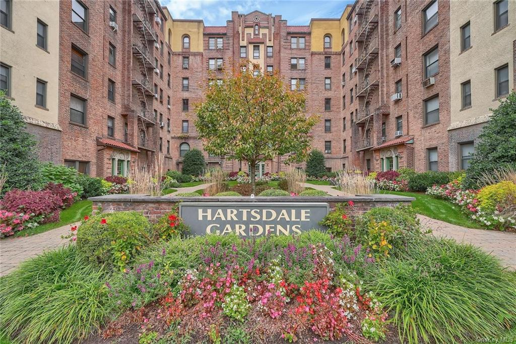 Welcome home to Hartsdale Gardens where charm and convenience meet!