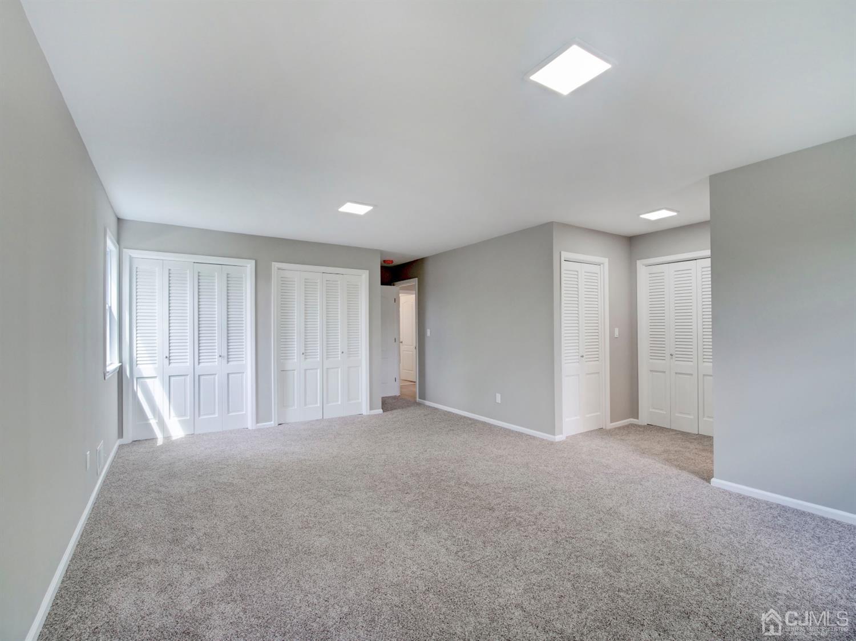 Master bedroom has 3 double closet plus a large linen closet
