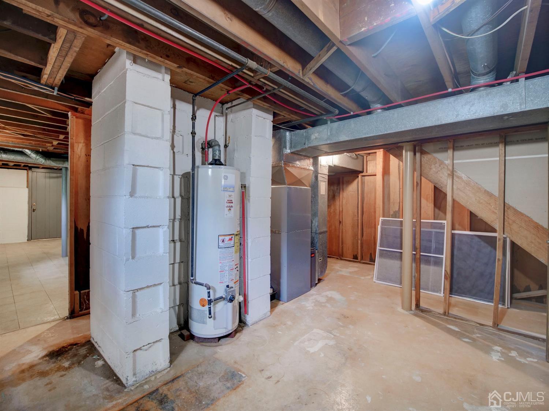 HVAC in basement