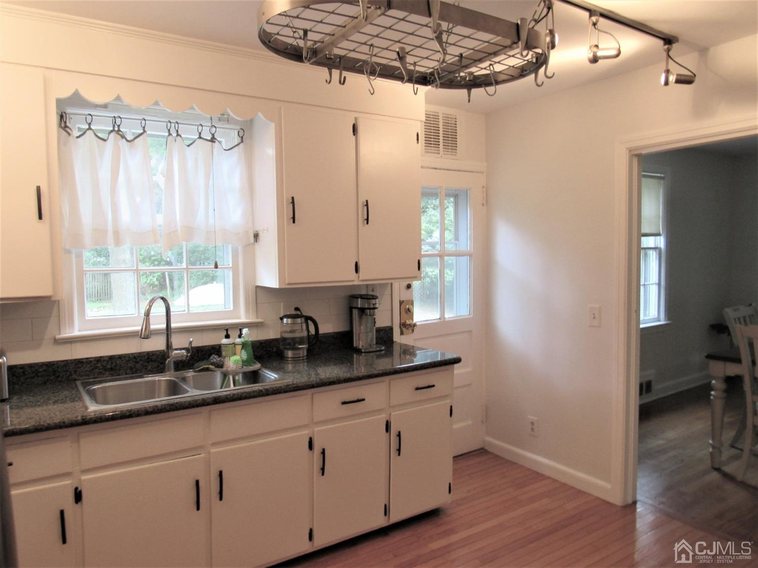 Kitchen with Rear Entrance