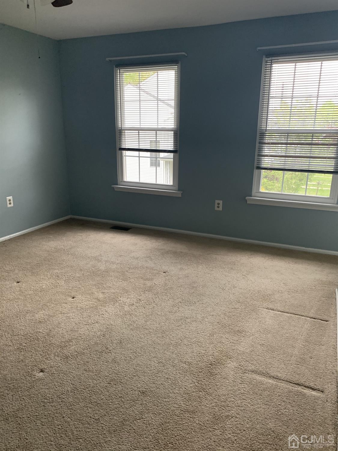 Second large bedroom as big as the master bedroom with closets galore