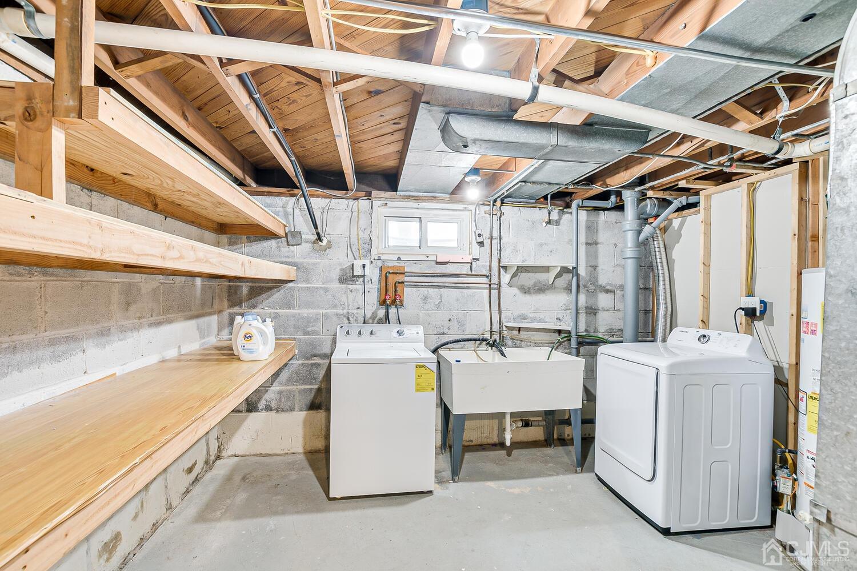 Utility & Laundry Room with Plenty Storage