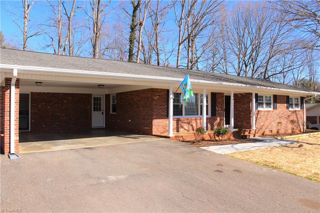 Wow is all I can say! All brick home 3br/2ba fully remodeled. Home boasts granite counter tops, Stainless appliances, Vinyl windows, recent architectural roof, New interior doors, New insulated exterior doors, New Vinyl laminate flooring throughout, New paint, New landscaping, New sidewalk and New HVAC. This is one of the nicest homes you will find in the price range. Home also has new rear patio and fenced back yard, 2 car carport and large paved parking area. Schedule today, this won't last!
