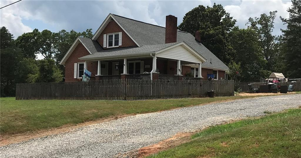 Cute cottage style brick home on +/- 9.87 acs in grt loc,country living at it's finest yet convenient to amenities, 3BR/2BA,beautiful stained glass window covers,gorgeous updated kitchen with ss appliances, open concept living room, dining and kitchen, master bedroom on main level w/private bath, main level laundry room, covered front porch, fenced backyard, lg garage/workshop,lg storage bdlg,above ground pool can stay w/acceptable offer, land lays well and is mostly wooded, buyer to survey, A must see!