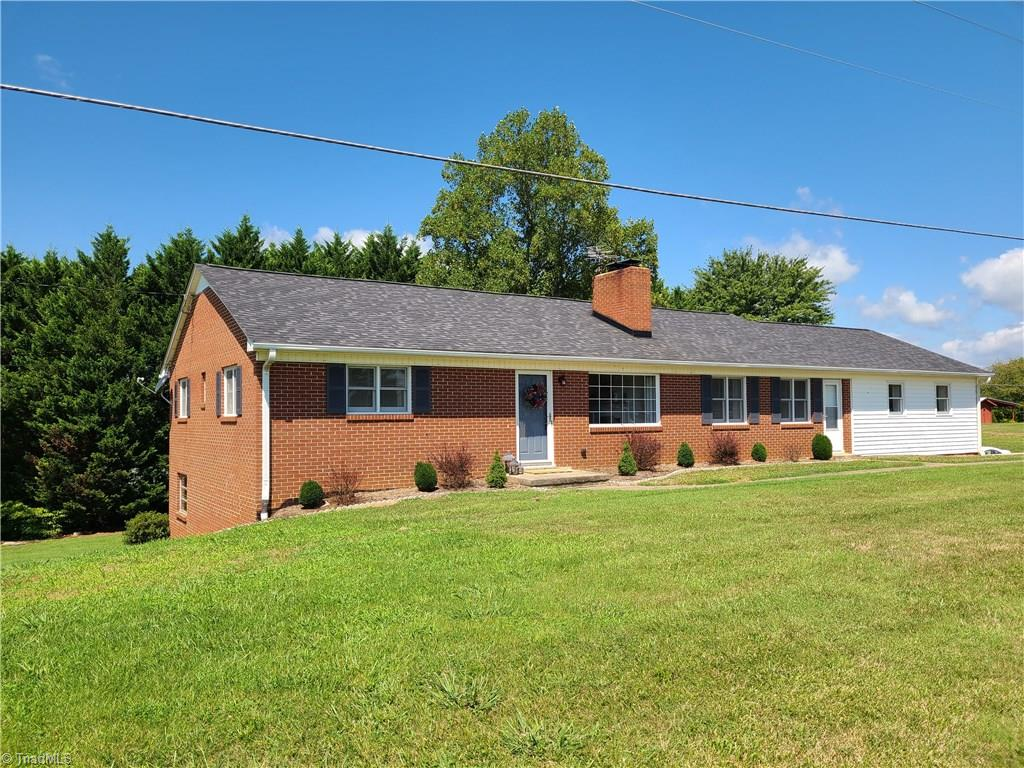 Super nice 3 bedroom brick ranch with full basement.  Home is in great condition with many updates including paint, roof 2 years ago and flooring.  Most of the home has original hardwoods, kitchen and bathroom vinyl, carpet in living room and den. Home has full basement that has been waterproofed, 2 car garage carport and plenty of backyard for the kids to play.  Home is in excellent condition, bonus room not included in heated sq footage and could be heated and cooled easily. This one won't last!