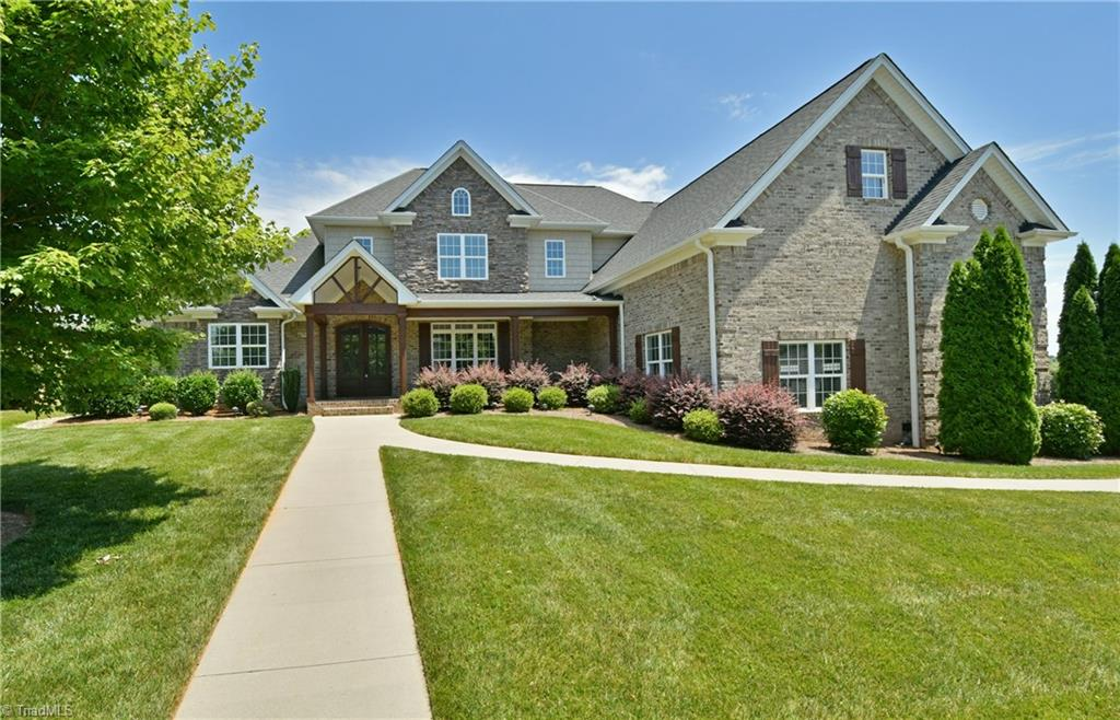 Fabulous home in popular Brookberry Farm! Open & inviting flr plan-LR features stone FP, blt ins & coffered ceiling-large island in gourmet kit overlooks living & keeping rms-abundant wood flring & detailed mouldings-wonderful walk in pantry-spacious laundry w/access to separate office-ML MBR w/FP & luxury bath-walk in closets in all bdrms-UL feat landing w/blt ins-bonus rm with window seat & open shelving could be 5th bdrm-spectacular outdoor living space with stone FP, fountain & expansive patio area!