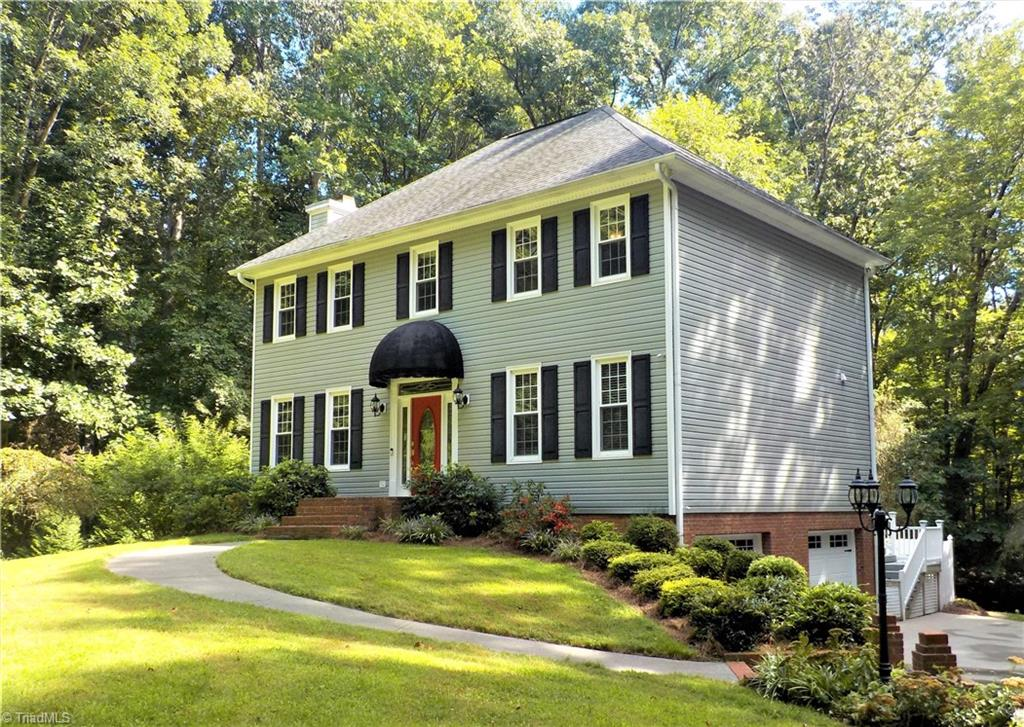 "Welcome to this stunning home ideally located in quiet neighborhood. Fresh paint, & recent updates, tucked away but close to great shopping and restaurants. Option for 4th bedroom on main level with access to full bath. Spacious master on second level with 2 additional bedrooms. Beautiful kitchen, heated & cooled sun room that over looks gorgeous backyard retreat. Deck space boasts  hot tub, basement has finished area with ""theater room"" and office. All this home needs is new owners! Make your appt today!"