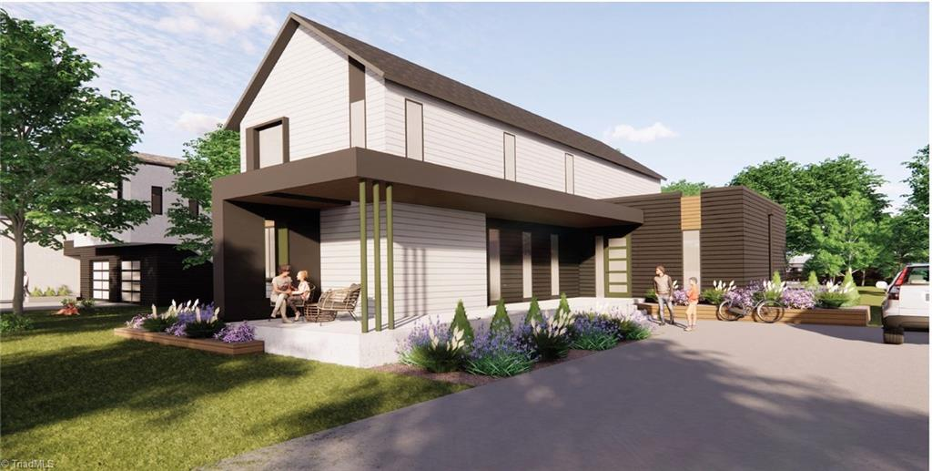 Renowned STITCH Design Shop brings modern into established 27104 neighborhood. Don't miss this opportunity to partner w/STITCH to create a one of a kind home built with your lifestyle in mind. Only three remaining homesites- don't delay!