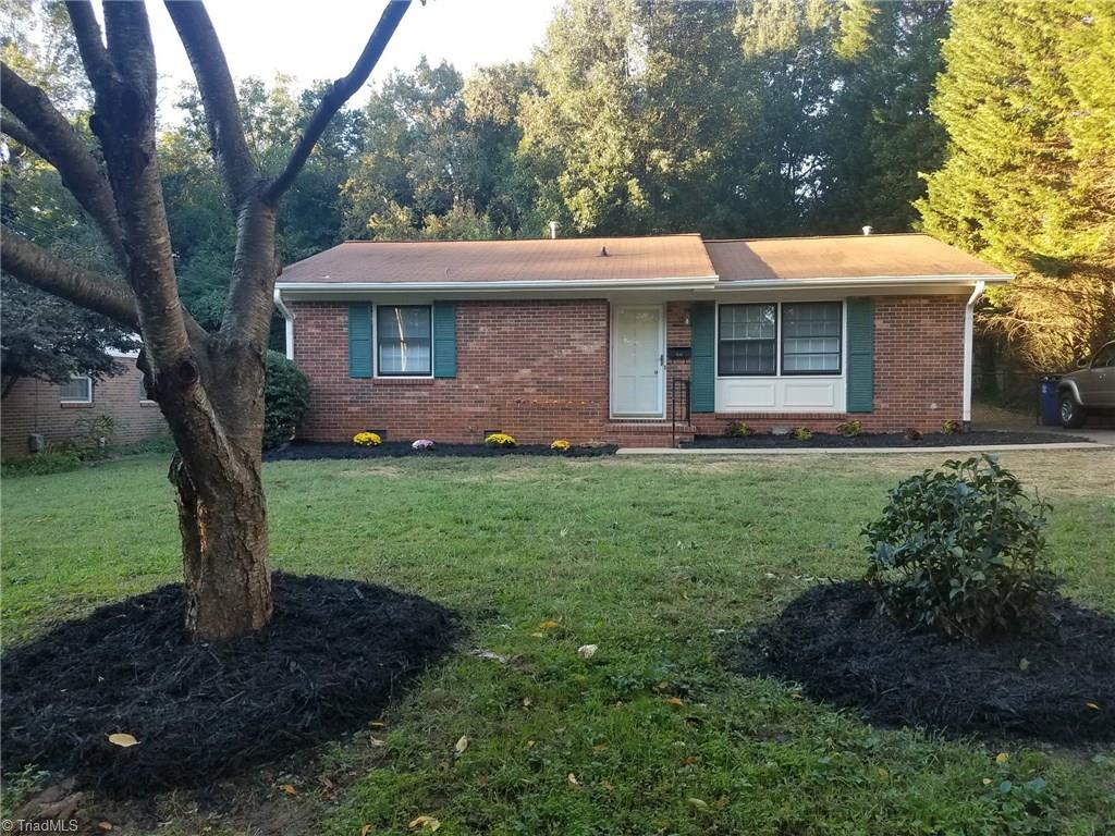 Great Ardmore Location!! All Brick, one level charming ranch home! Fenced back yard,beautiful hardwood floors, all appliances remain,pantry, new counter tops, new vanity,granite and flooring in bath. Storage building to remain! Buy now for less than you are renting for! Cute as a button!!