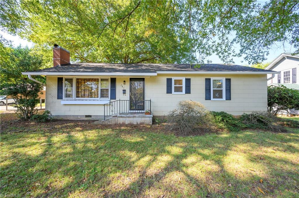 Check out this CHARMING 3 bedroom 1 bath home! Beautiful ONE LEVEL home near downtown Mocksville. Lots of upgrades: NEWER WINDOWS & STORM DOORS, NEW GUTTERS. NEW HVAC in 2017. Electrical all redone in 2015. COZY Wood burning fireplace insert added. Beautiful Yard with mature trees and EXTRA LARGE STORAGE BUILDING. NEWER 2 car detached CARPORT. Transferable termite bond. Close to shopping and highways. Bring us an offer today!