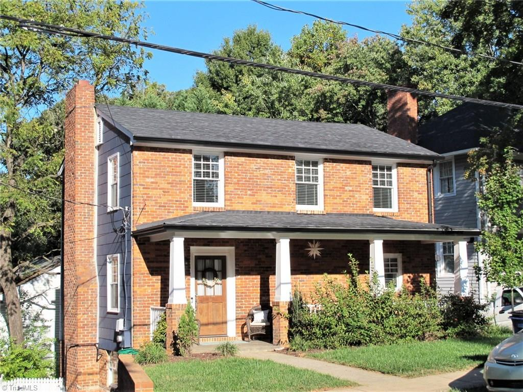 Back on market--appraisal good, no fault of seller.. This charmer was totally redone in 2018. Exterior updates to city Historic approval criteria. Walk or bike downtown or to work at WFU Baptist Hospital. Sit on your covered front porch to visit with neighbors or on your screened back porch for coffee in the morning. The character of West End remains in tact with warm hardwood floors, original fireplace, nooks and crannies. Modern finishes in kitchen and baths, the best of both worlds. A hard to find renovated and affordably priced home is our urban sought after downtown area.