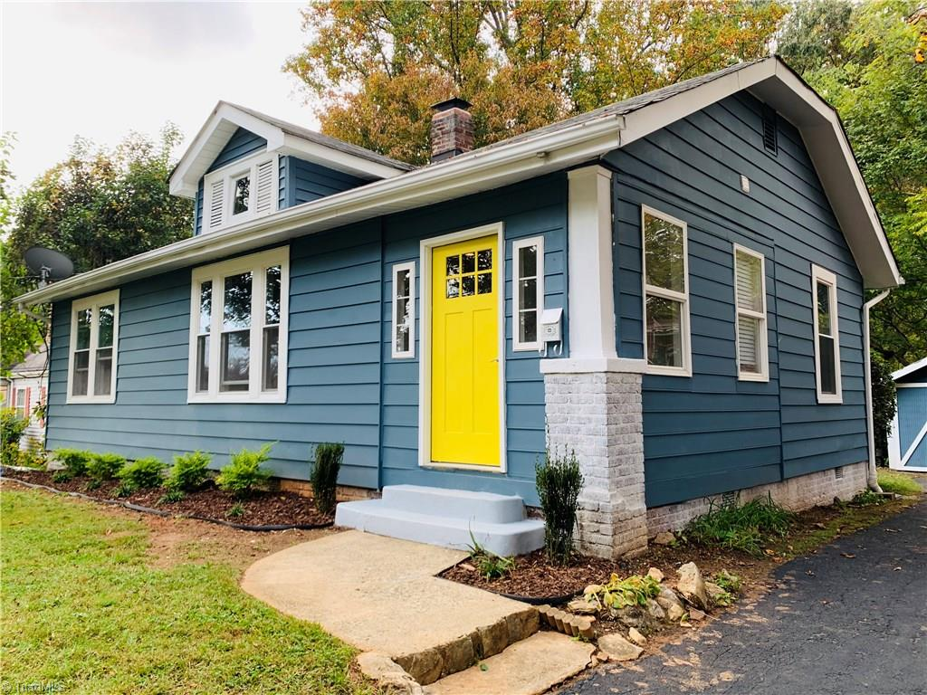 Charming cottage home that has been renovated inside and out.  New kitchen appliances, hardwood floors refinished, bathrooms updated to keep the old charm with a modern flare.  This home is a must see!