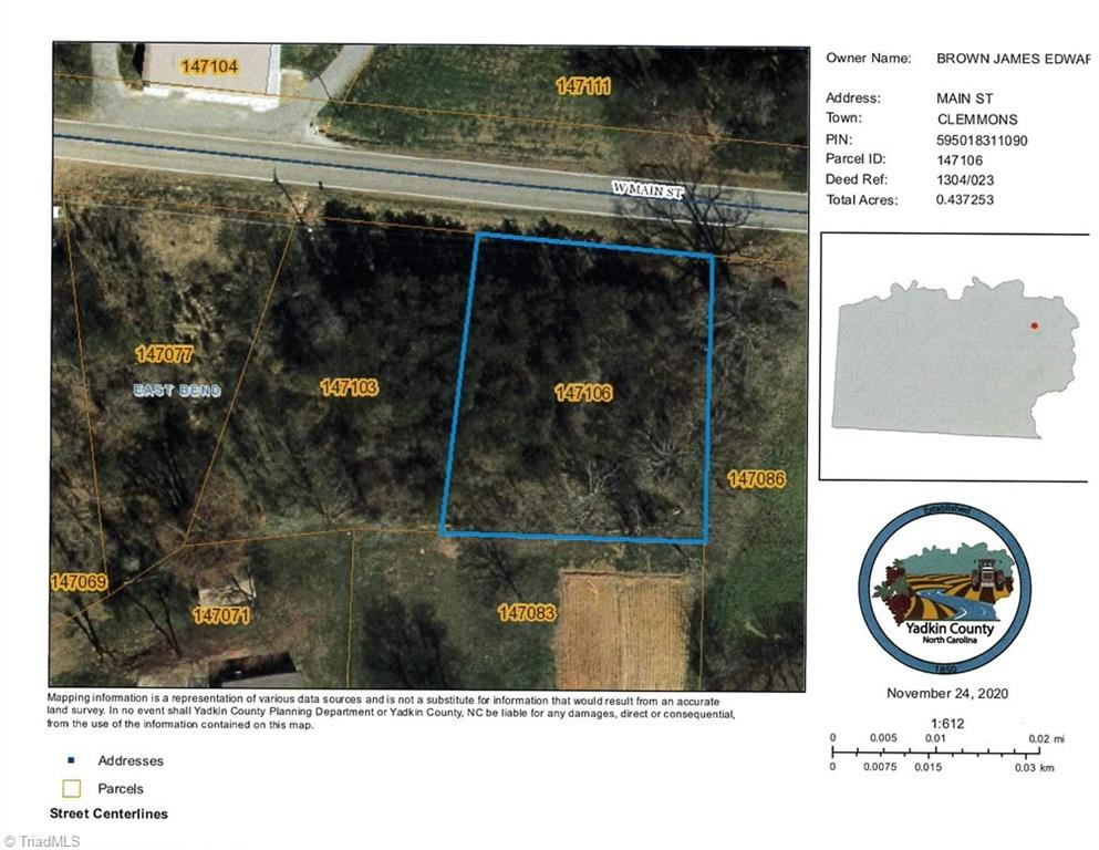 Highway Commercial property right in the middle East Bend