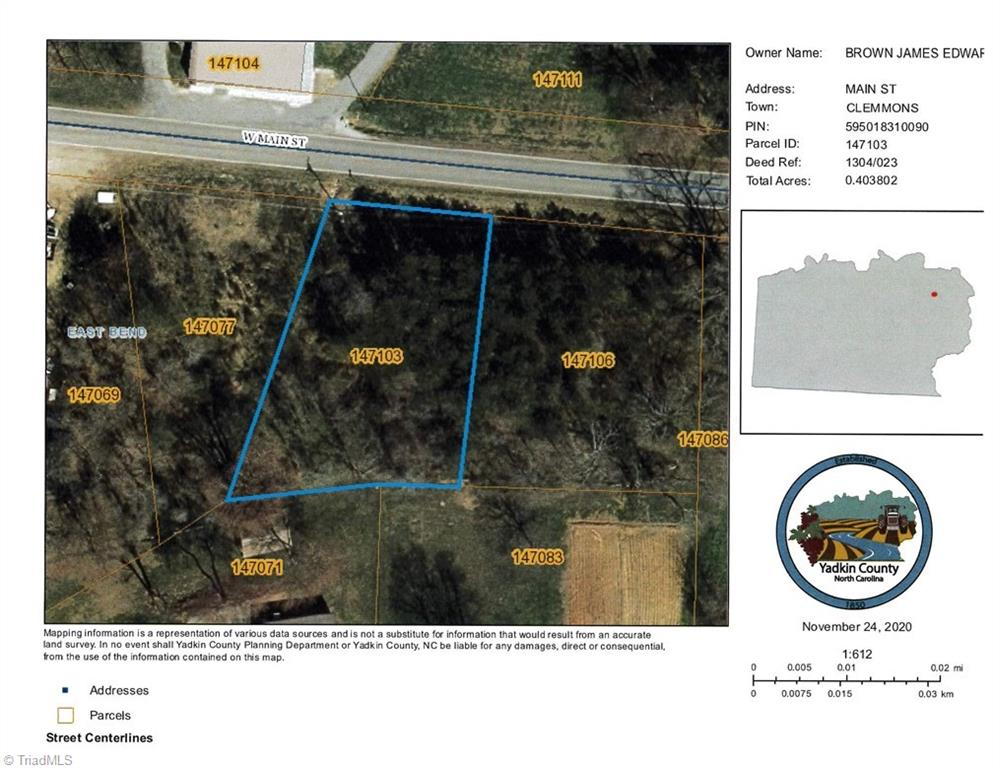 Wonderful opportunity to own commercial property in Yadkin county.