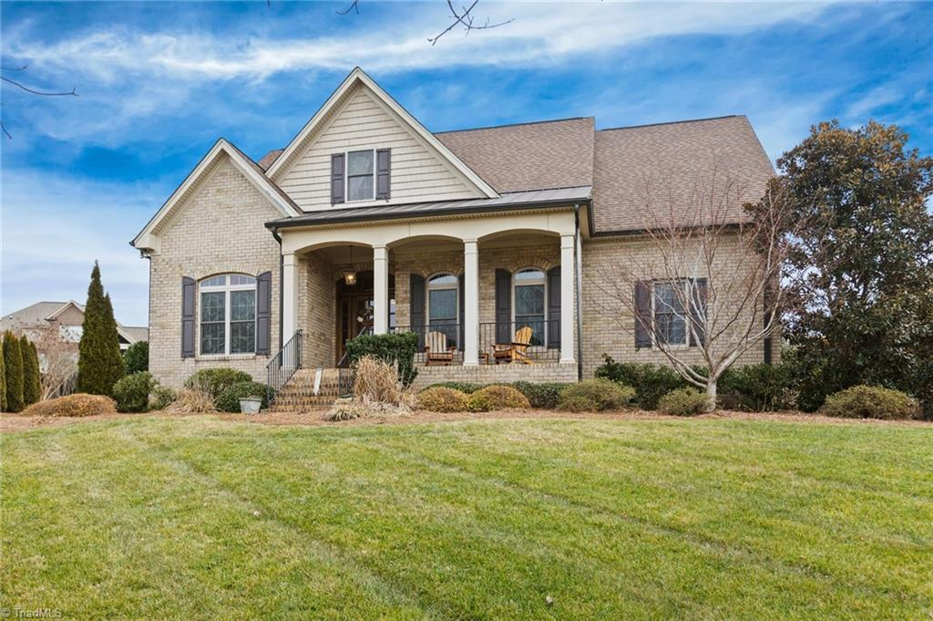 Amazing home located in Brookberry Farm steps away from the pool/playground & numerous neighborhood amenities. Enjoy the view from your front porch of the large common space right across the street! Lovely foyer area greets you upon entry where you'll find an office/study area & dining room. Living room is full of natural light & opens directly onto the well appointed kitchen with double ovens, 2 dishwashers & walk-in pantry. Large mud room & laundry right off the ML 3-car garage. Large patio area right off living room lets you enjoy the private, well landscaped back yard. Main level master bedroom is tucked away & has a fantastic custom closet. UL features 3 or 4 additional bedrooms, plus many additional spaces: 2nd office, playroom or children's study area, plus a bonus room with an amazing climbing wall plus a flex space for exercise or media room. Hardwoods throughout along with many lighting upgrades. Make this one yours to enjoy all Brookberry Farm has to offer!