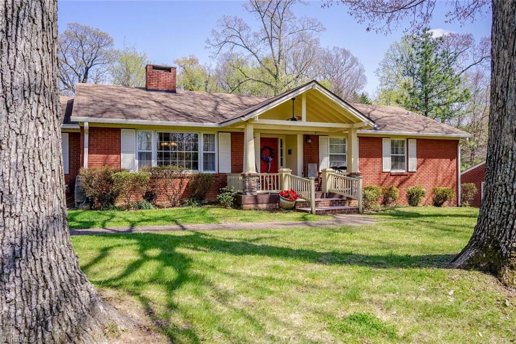 Updated Ardmore ranch with finished basement, enclosed porch & hardwood floors throughout main floor. Custom kitchen in 2016 with movable island. Master has it's own bath.  House sits on a double lot with lovely landscaping, azaleas in front and rear. Two working fireplaces.  One is wood, one is gas and a non-working fireplace in dining room.  Seller is a licensed broker and  has provided a recent home inspection, radon report, pest inspection and more.  Please no showings after 5:30 pm