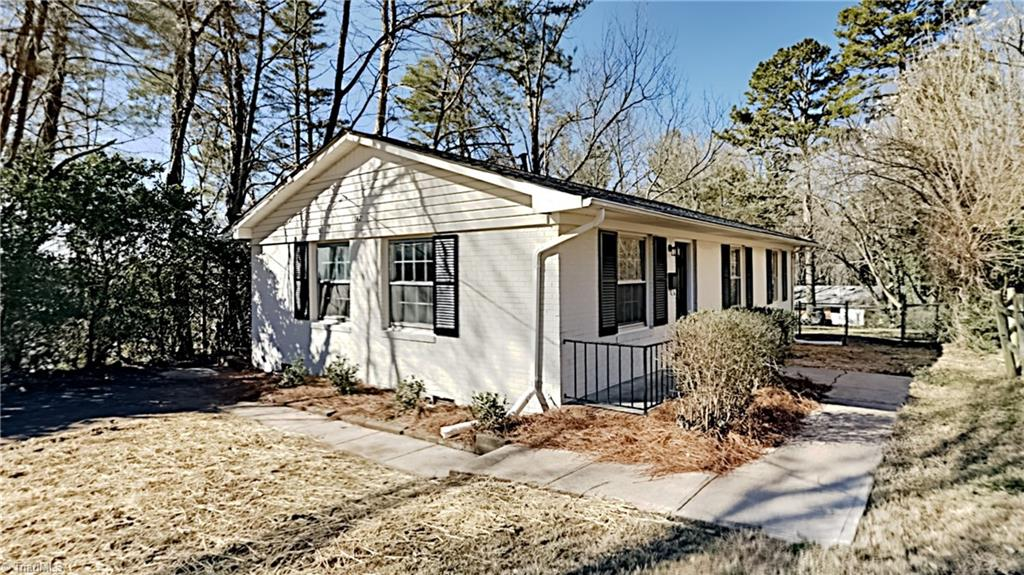 Cute 3 bedroom 2 bath ranch home in Winston Salem! Lots of new updates! NEW HVAC and NEW water heater! New luxury vinyl plank and carpet throughout and entire home painted inside and out! Beautifully updated kitchen with new cabinets, granite countertops and stainless steel appliances. All bedrooms are spacious! Take a tour today!