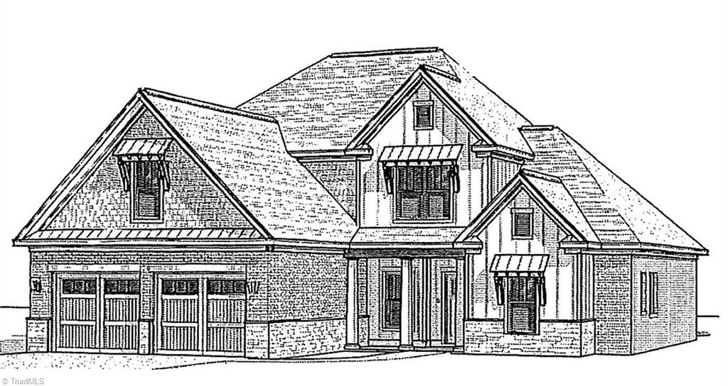 Exceptional floor plan with loft and bonus room upstairs. Beautiful kitchen with 2 pots and pans drawers, pull-out trash cans and quartzite countertops. Butler's pantry and drop zone with built-ins. Owner's bath has free stading tub, zero entry tile shower and quartz countertops. Screened porch and covered patio with fire pit. Isenhour Homes' Sydney floor plan. All information is from plans and is subject to change.