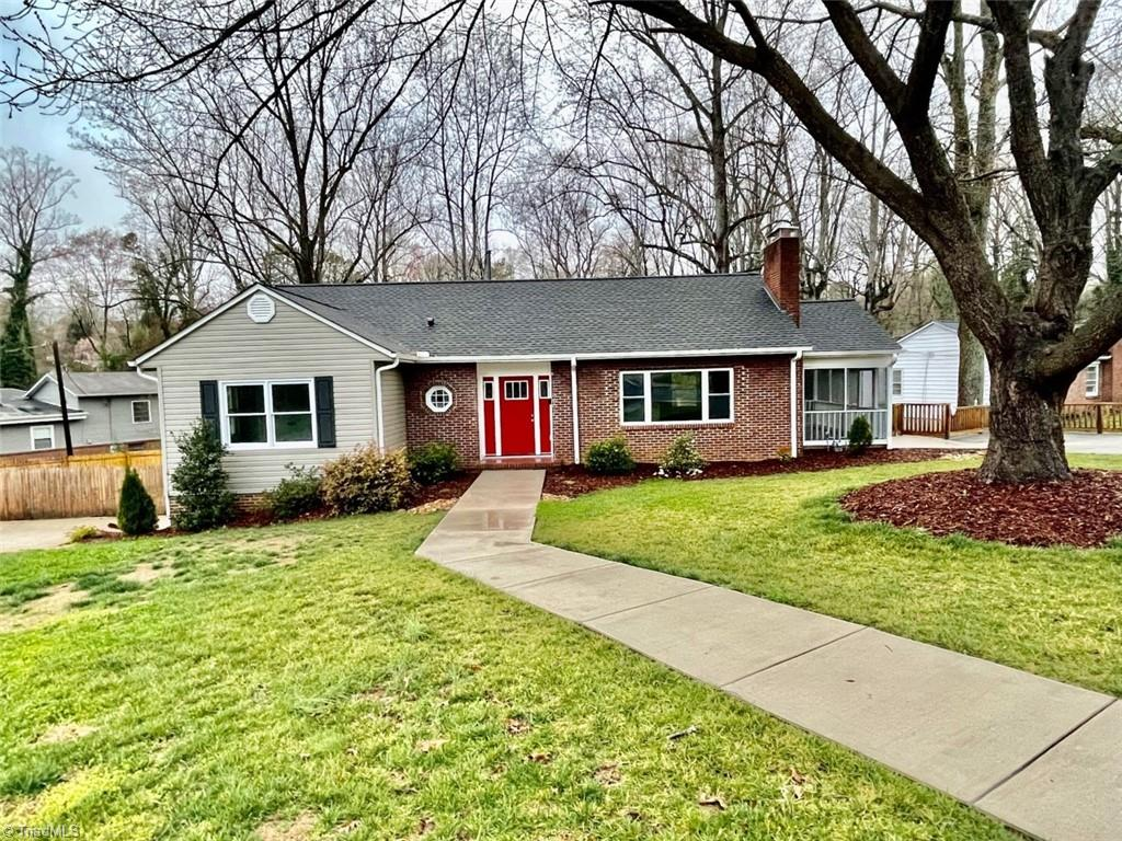 Major Price Reduction! Motivated Seller!  Fabulous Home in Ardmore!  LIKE NEW.  Hardwoods on main level. All New Kitchen with Bar height eating area.  SS Appliances. All New Bathrooms. New HVAC, GAS Furnace & Mini-splits. Rock FP in LR. Primary BR on ML plus 2nd BR and full bath.  Laundry is located on the ML.  Fully Finished Basement with tons of storage and space.  Cute Bar/Kitchenette area in Den.  2nd Rock FP in Basement.  Study area in basement perfect office space. Walk-out basement.  Huge fenced yard.  Side Screened porch.  Many, Many Features! Fantastic Location!