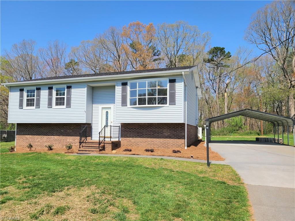 Multiple offers. Highest and best  4/8 by 8pm Gorgeous remodeled home!  Fully remodeled kitchen with all new stainless appliances including Refrigerator, new counter tops and tile backsplash.  Home also boasts insulated windows and doors, 16x14 deck, new heat pump, new paint,  engineered hard wood flooring through out the main and LVP in the bathroom.  This one is the one!  Super nice house that needs nothing. Storage building included.