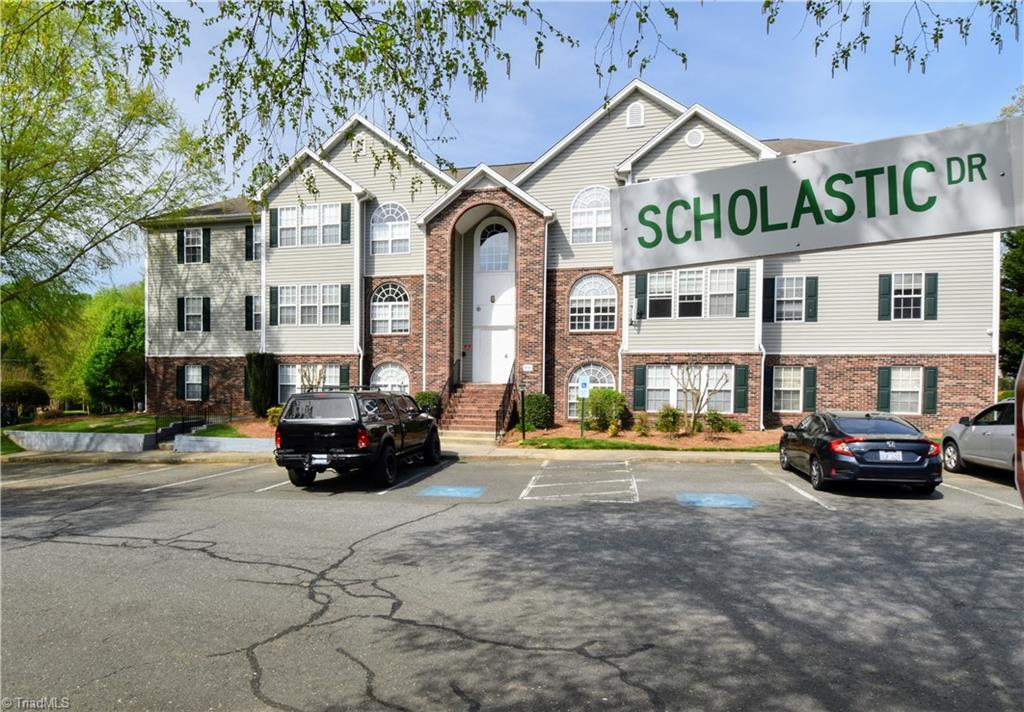 Investors special!  Income producing with tenant lease in place till November 8. Community with secure entrance. This top level condo features 2BR, 2BA with all appliances, fireplace, covered deck with storage room and secured entrance. Low maintenance living close to WFU, shopping, dining and minutes to downtown. **24 hour notice required for showings.****