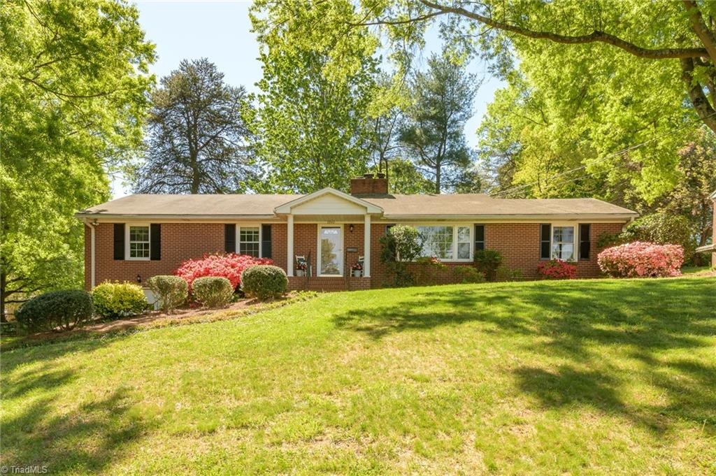 Wonderful, move in ready low maintenance brick ranch in central Knollwood Manor location - close to hospitals, shopping & main roads! This cute home offers ample space with both a formal living room and cozy den *OFFERS DUE: Mon., 4/26 @ 12 noon* w/working wood fireplace. Updated kitchen with granite, stainless steel appliances & barstool counter. Separate formal dining room. Master bedroom w/private en suite bath. Wood floors, ample natural light & curb appeal add to the character & charm of this well kept home. Lower level offers a bonus area - perfect as office/playroom or exercise room! Oversized garage provides parking, ample storage & workshop space. Rear patio and spacious yard are ideal for relaxing outside and hosting guests! Showings begin 4/23